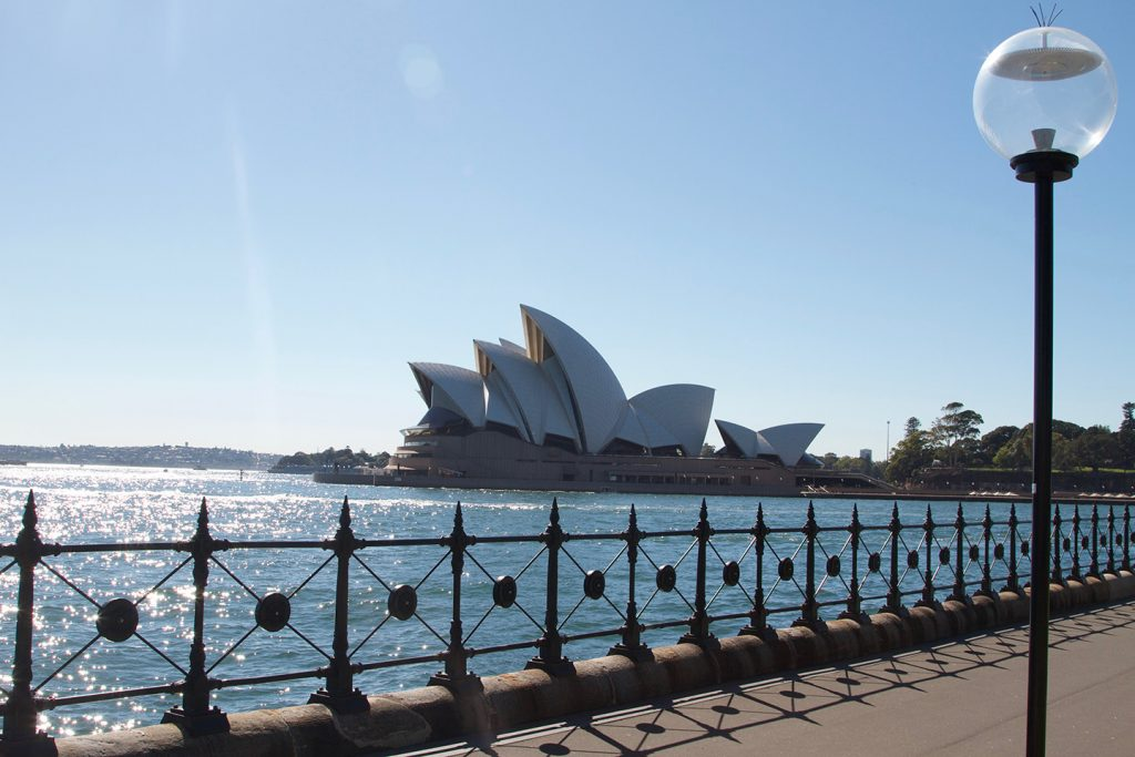 Opera House viewed from Dawes Point