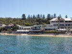 Watsons Bay beach and restaurant