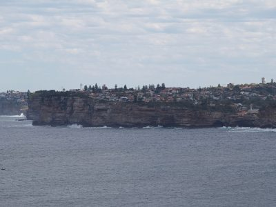 Vaucluse as seen from North Head